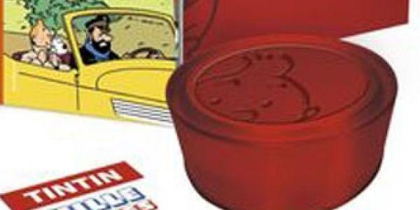 Tintin tape dans le mille