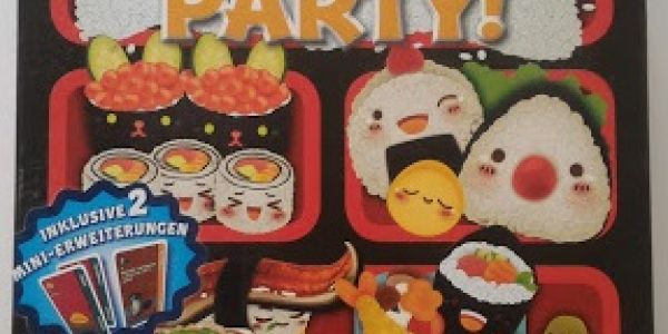 Critique de Sushi Go Party !