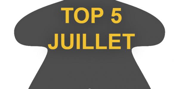 Top 5 Juillet