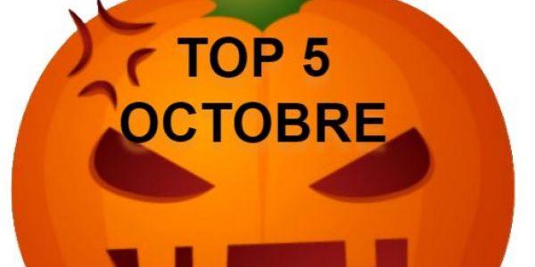 Top 5 du mois d'octobre ... novembre