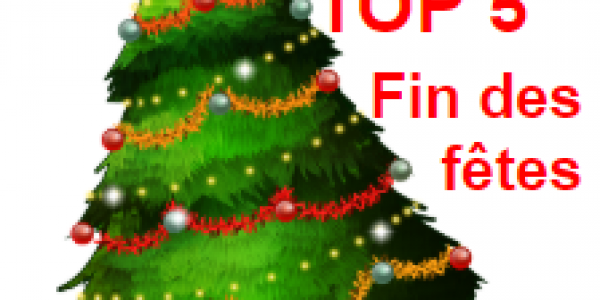 Top 5 de Noël