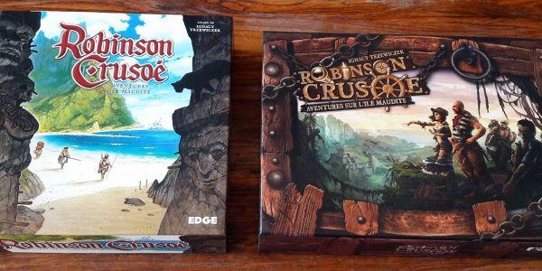 Robinson Crusoe : Edge vs Filosofia le comparatif