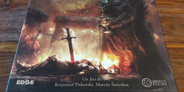 Tainted Grail : Open the Kickstarter Box of Avalon