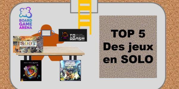 Top 5 : les jeux en SOLO
