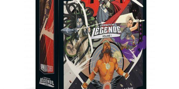 Unmatched: Combats de légende volume 1