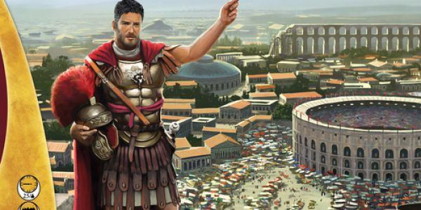 Ave Roma, un Kickstarter disponible à Essen 2016.