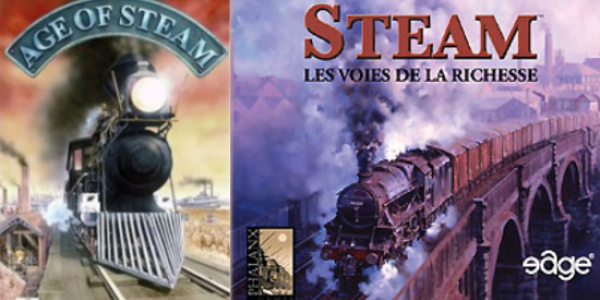 Comment jouer à Age of steam avec Steam ?