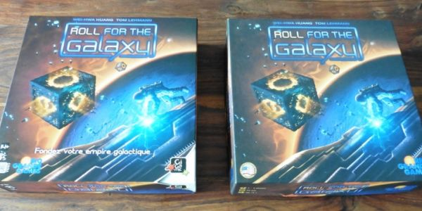 Comparatif matériel Roll For The Galaxy : VF vs VO