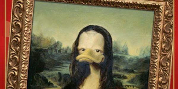 Quand Picsou achète des tableaux...