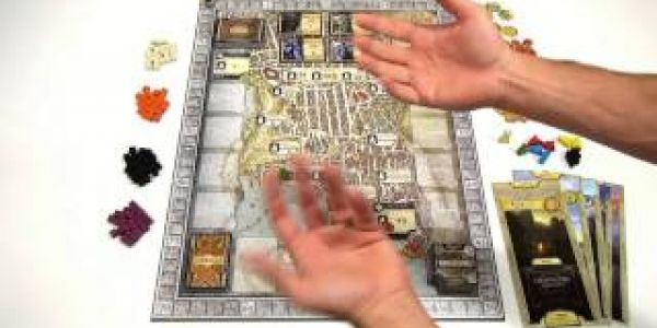 Focus On Board de Lords of Waterdeep