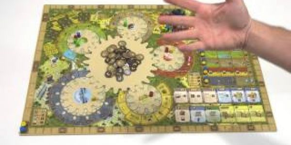 Focus On Board de Tzolk'in Le Calendrier Maya
