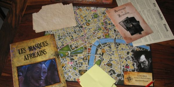 Goodies pour Sherlock Holmes - Les masques africains