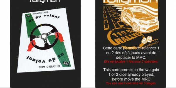 Une carte bonus pour Rallyman pour bien débuter l'année !