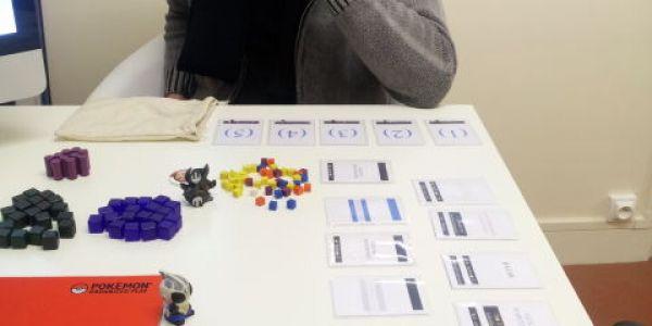 Le prototype de chez Moonster Game qui sera présenté à Cannes