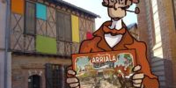 Arriala présenté chez lui pour la nuit des musées !