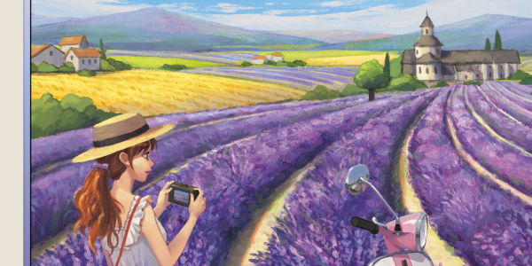 Walking in Provence