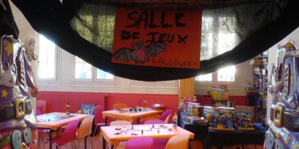 Halloween 2007 à la ludothèque de Maisons-Laffitte