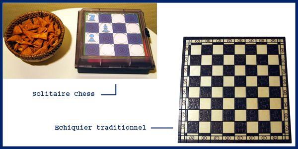 Solitaire Chess VS Les Echecs