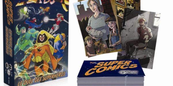 Le Test de Super Comics