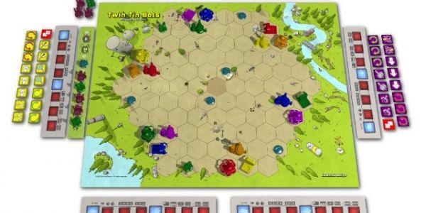 Twin Tin Bots, le nouveau jeu de Philippe Keyaerts, revient en financement participatif!