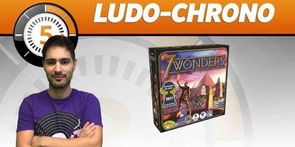 Le Ludochrono de 7 Wonders