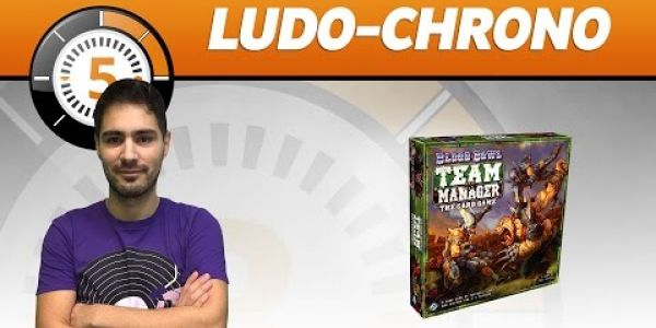 Le Ludochrono de Blood Bowl: Team Manager - The Card Game