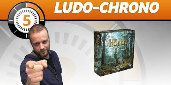Le Ludochrono de Le Hobbit - Le jeu de cartes