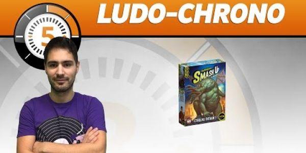 Le Ludochrono de Smash Up: extension cthuhlu fhtagn !