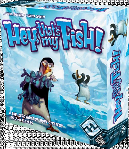 Hey, That's my fish !